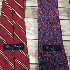 Brooks Brothers Accessories - Brooks brothers makers tie bundle 3 ties
